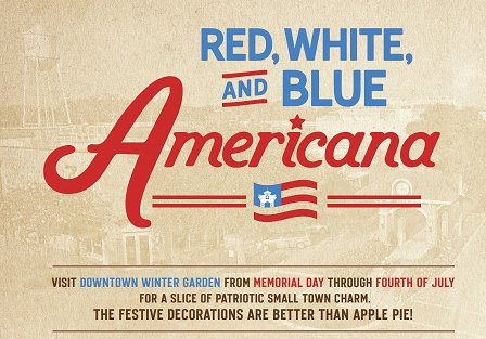 Red, White and Blue Americana