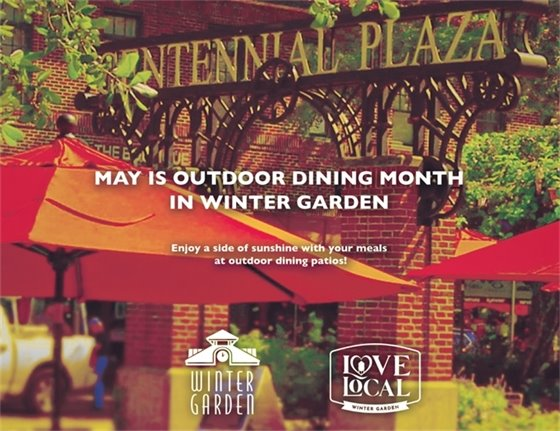 Outdoor Dining Month
