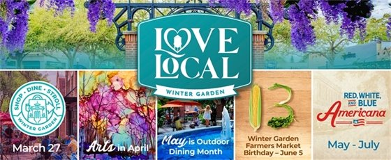Love Local March to July