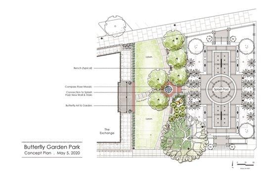 Butterfly Garden Park - Concept Plan