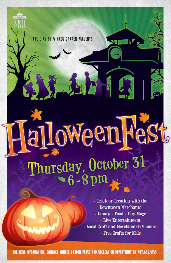 2019 Halloweenfest Poster