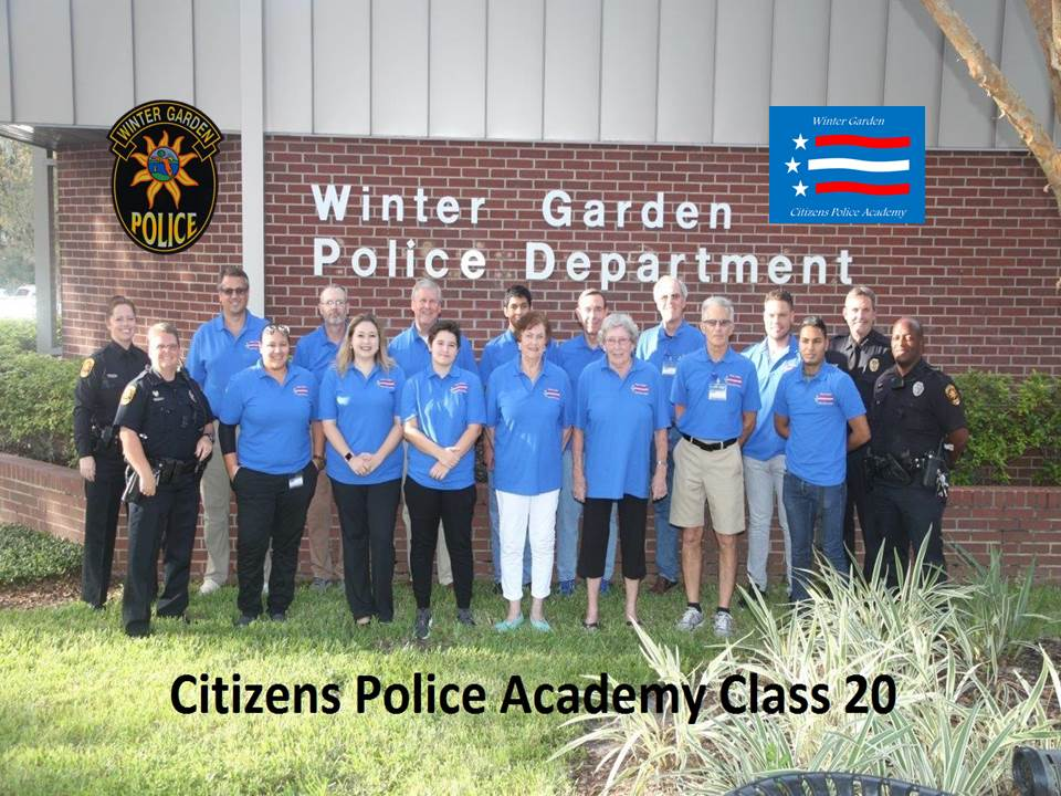 Citizens Police Academy Class 20